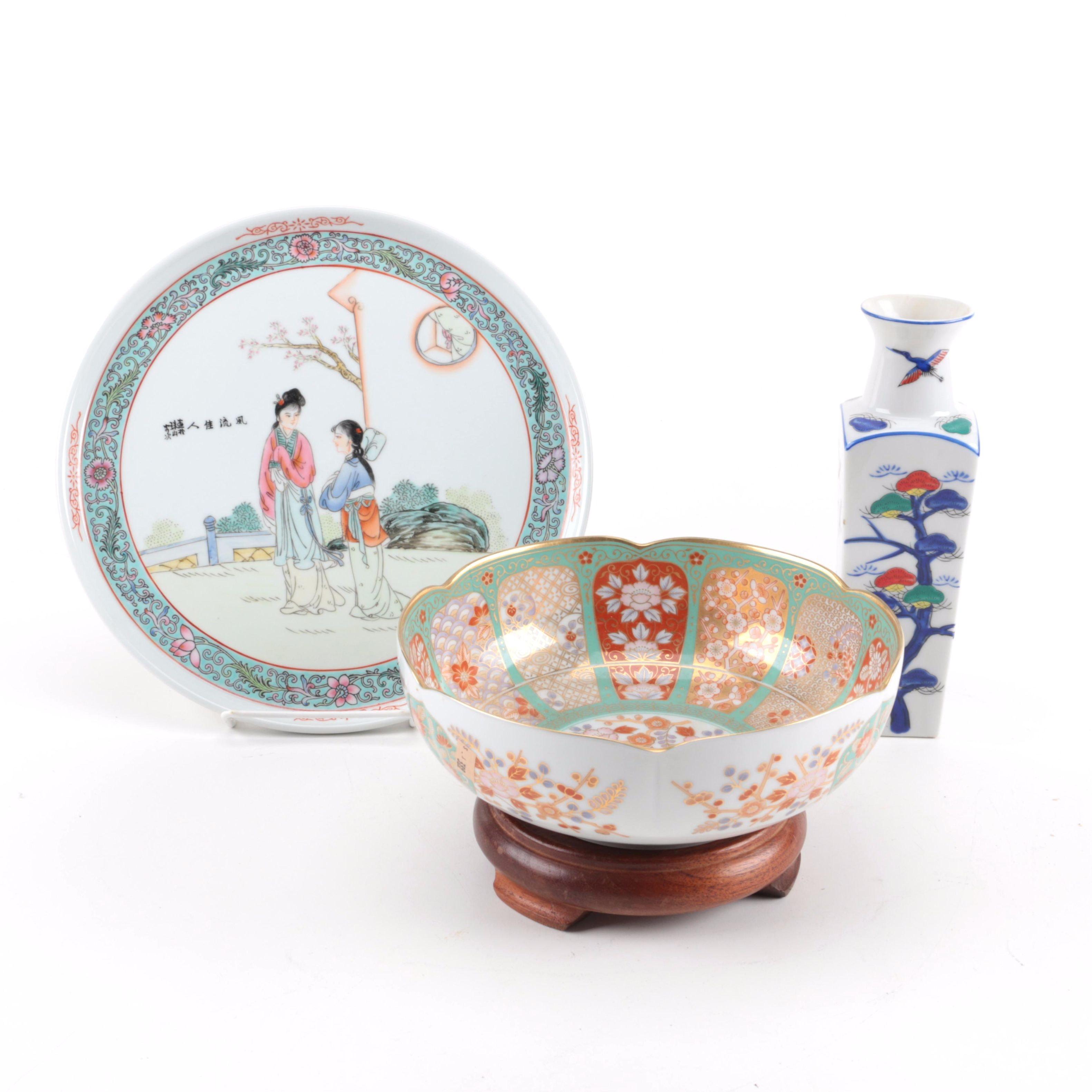 Chinese Ceramic Decorative Pieces
