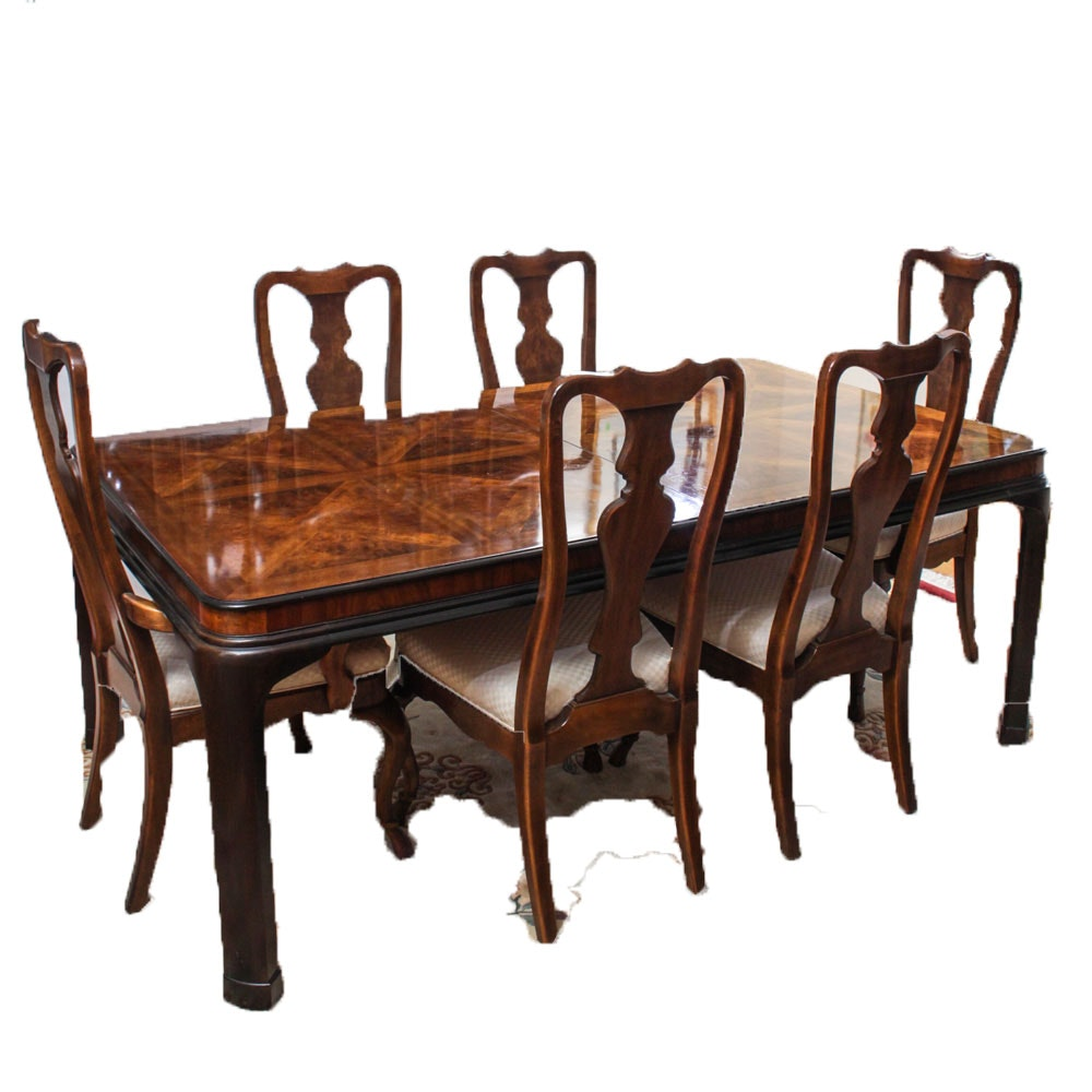 Drexel Heritage Quot Connoisseur Quot Dining Room Set Ebth