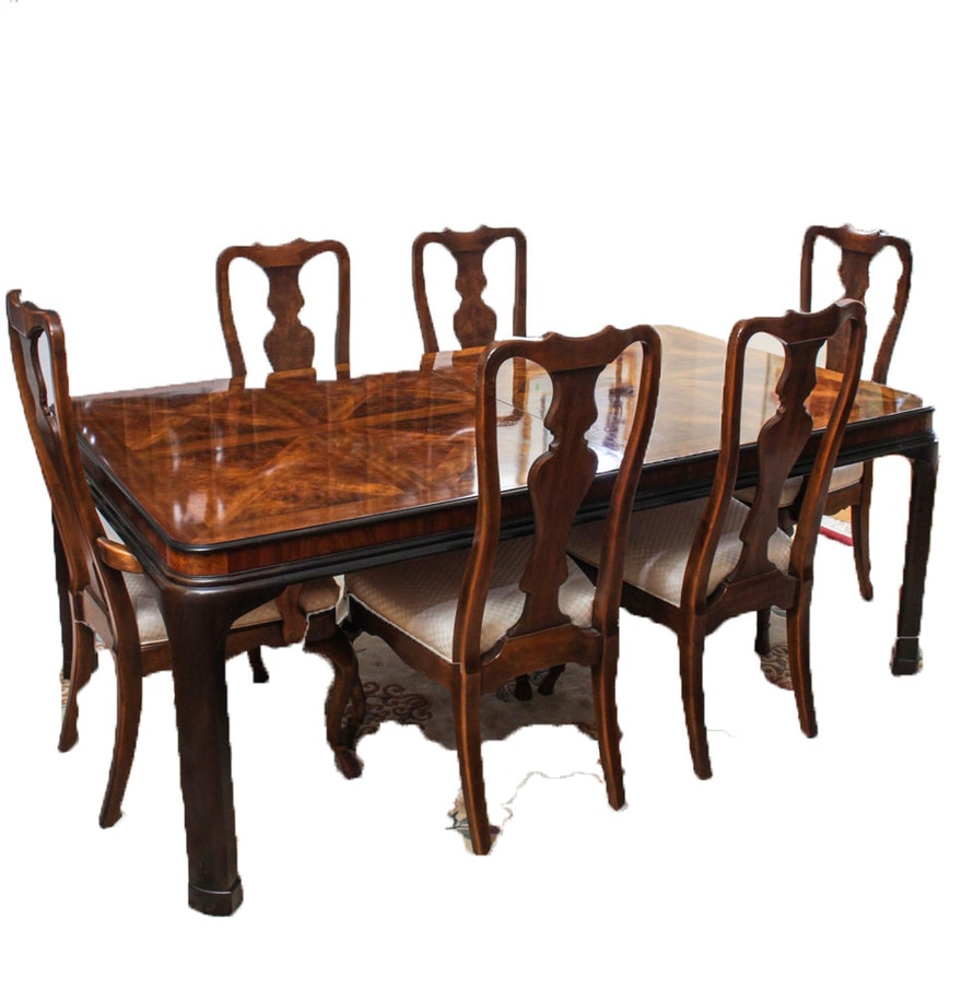 "Drexel Heritage ""Connoisseur"" Dining Room Set : EBTH"