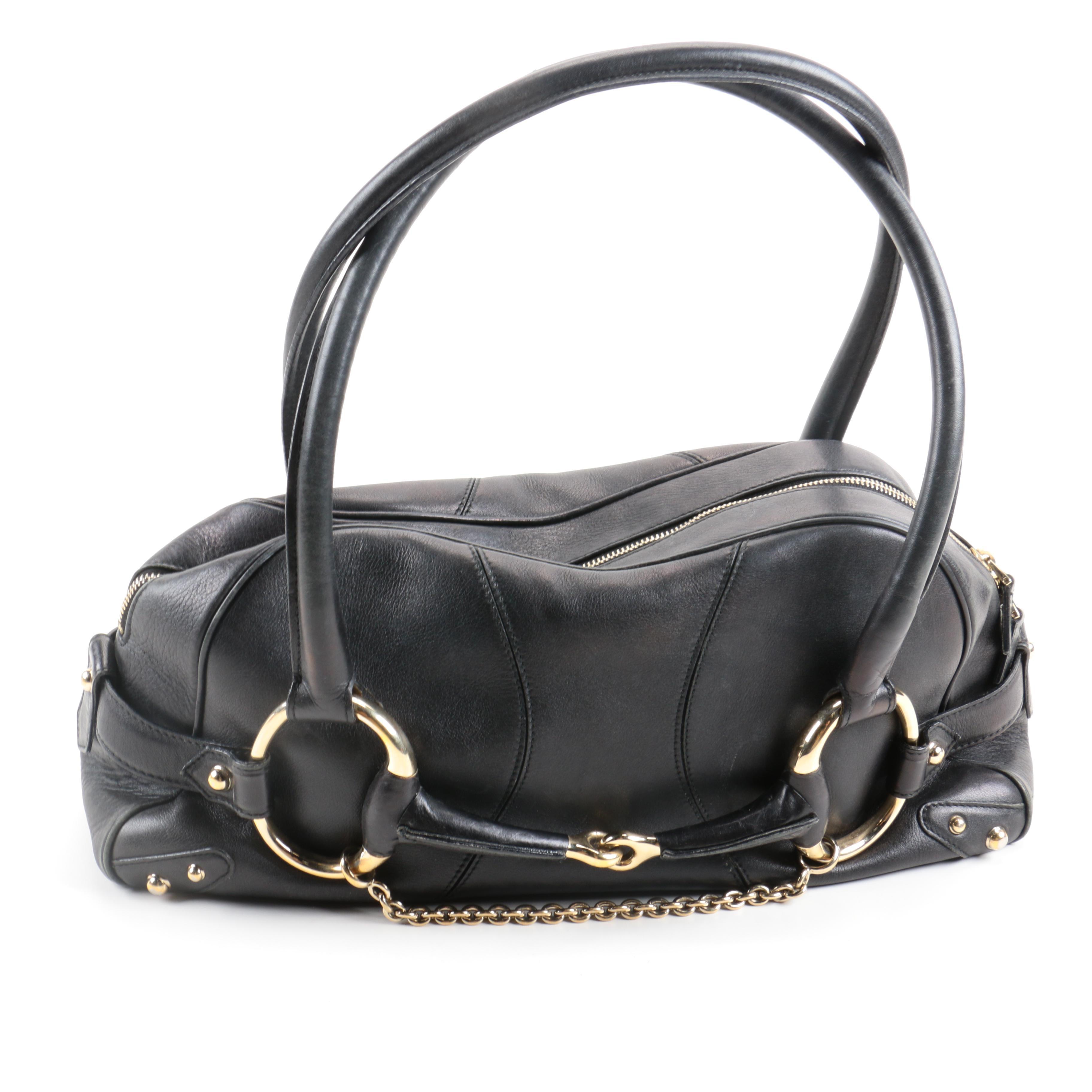 Gucci Leather Satchel