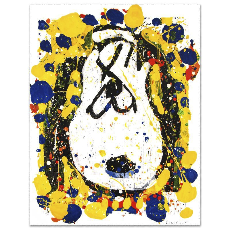 """Squeeze The Day-Tuesday"" Limited Edition Lithograph by Tom Everhart"