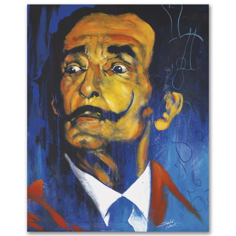 "Stephen Fishwick Limited Edition Giclee on Canvas ""Dali"""