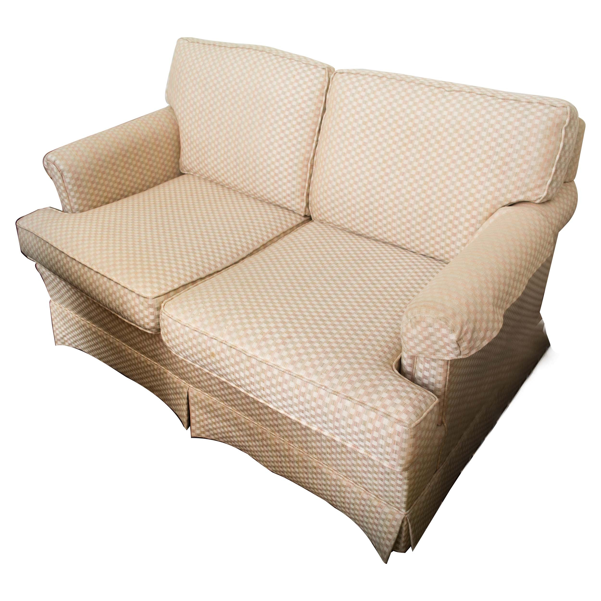 Roll Arm Loveseat by Ethan Allen