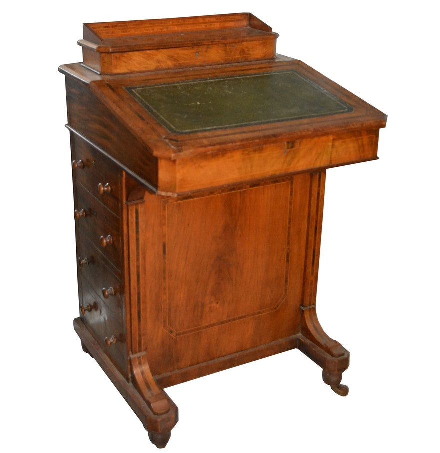 Antique Davenport Desk ... - Antique Davenport Desk : EBTH