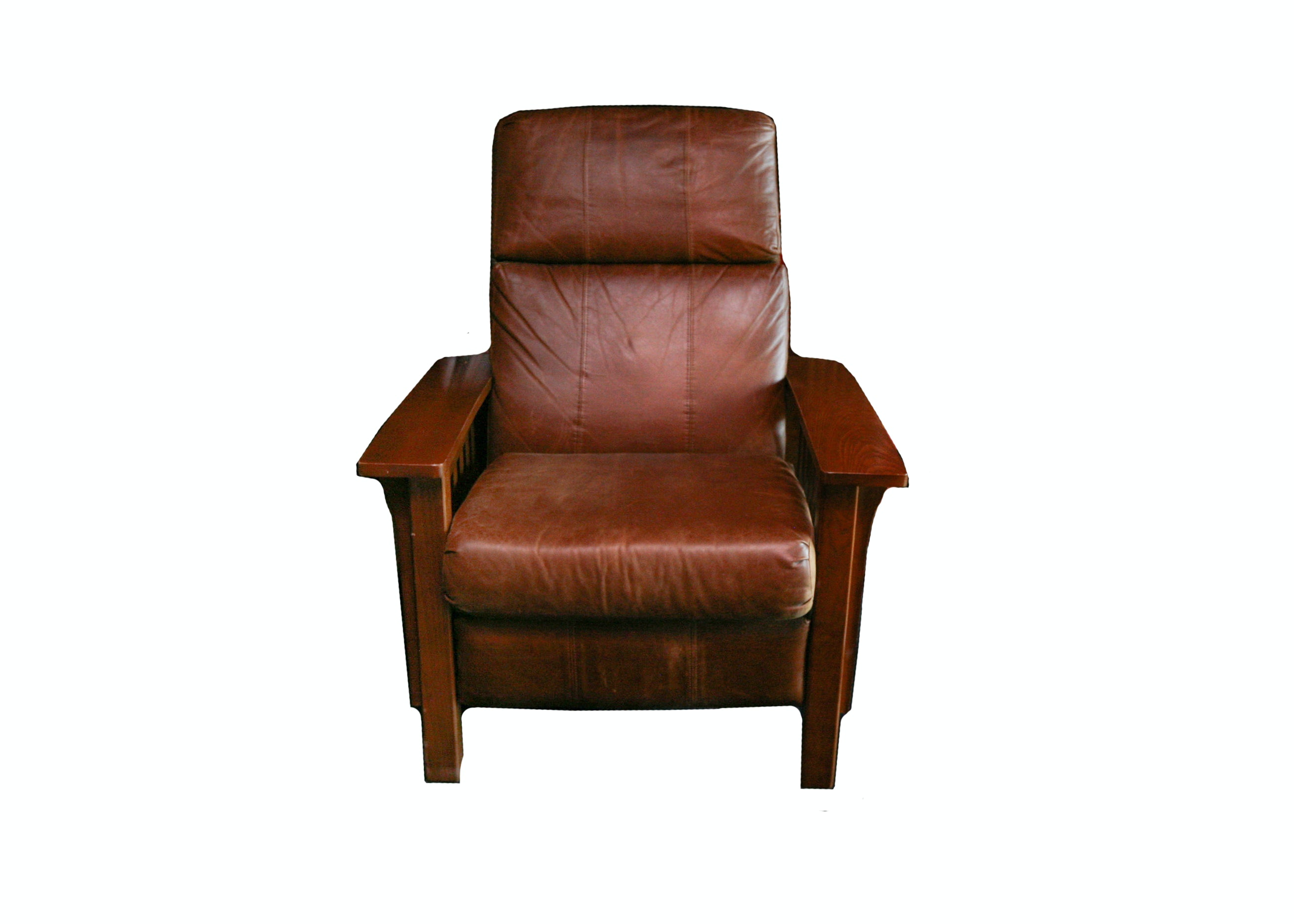 Lane Furniture Mission Style Reclining Chair ...  sc 1 st  Everything But The House & Lane Furniture Mission Style Reclining Chair : EBTH islam-shia.org