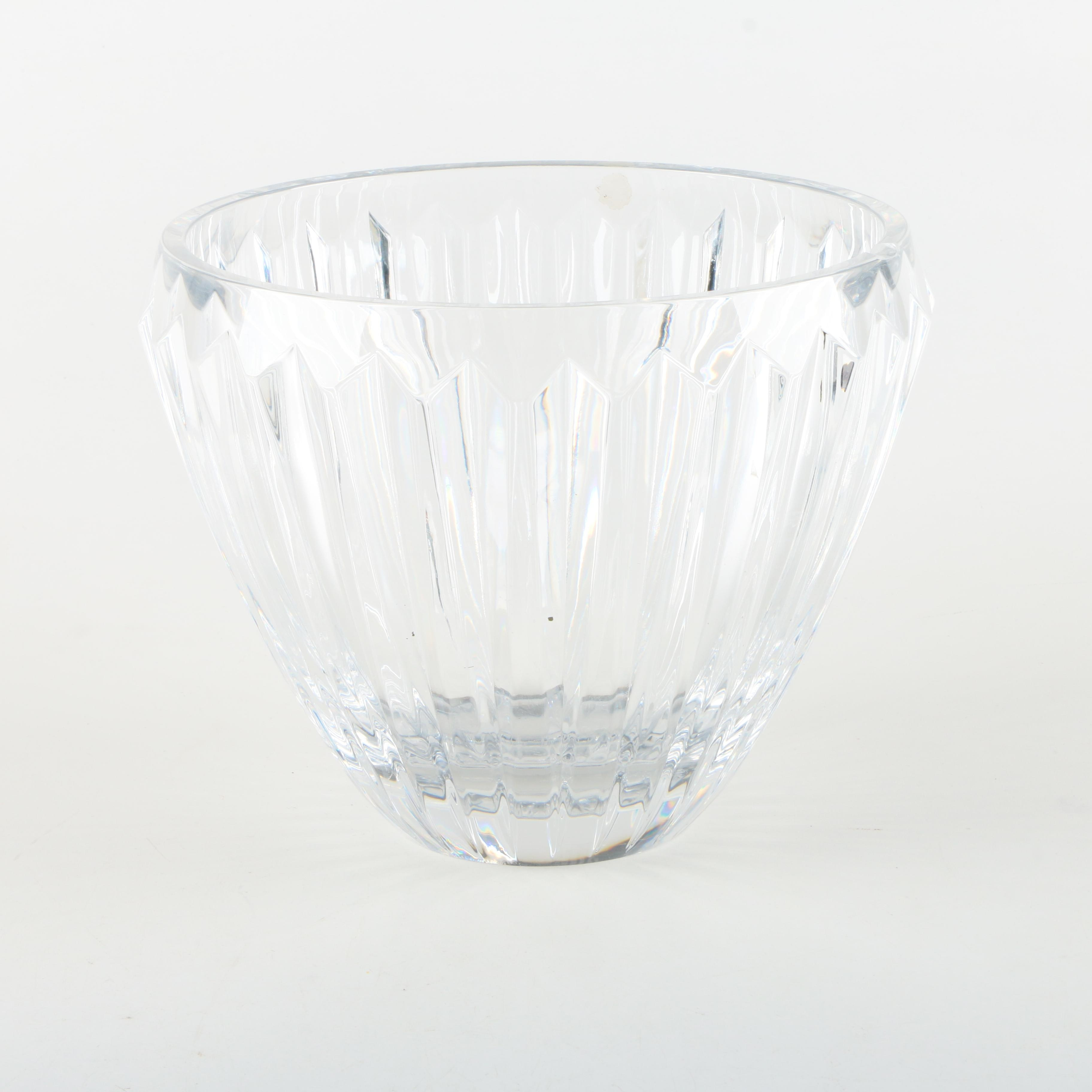 Crystal Ribbed Bowl