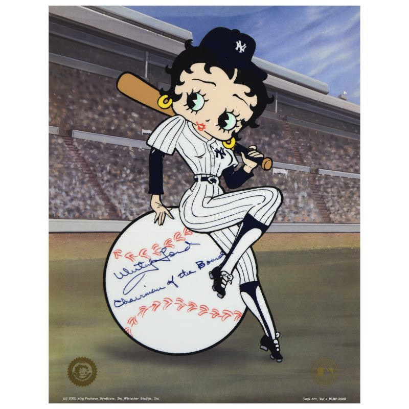 """""""Betty on Deck - Yankees"""" Limited Edition Sericel"""
