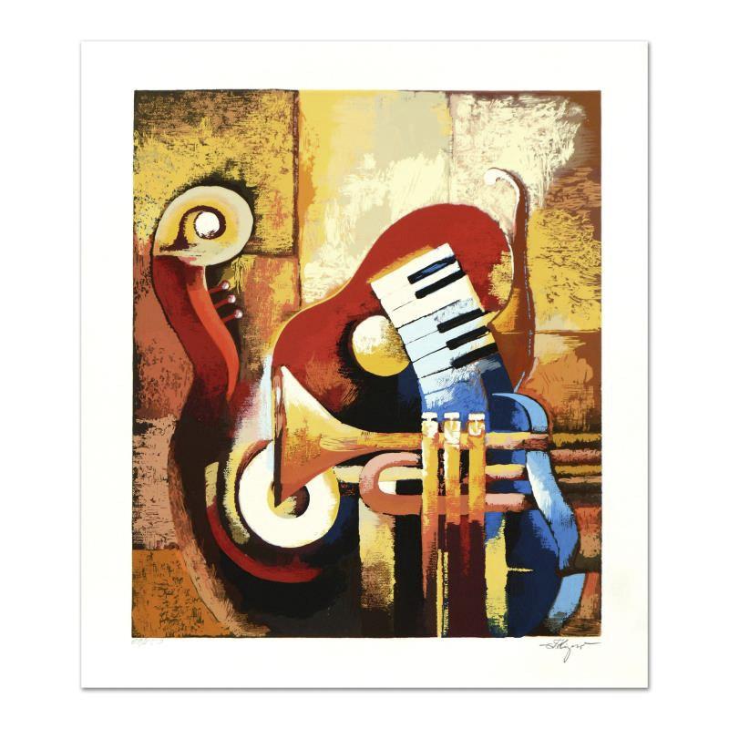 """Igor Kovalev """"Symphony V"""" Limited Edition Serigraph"""