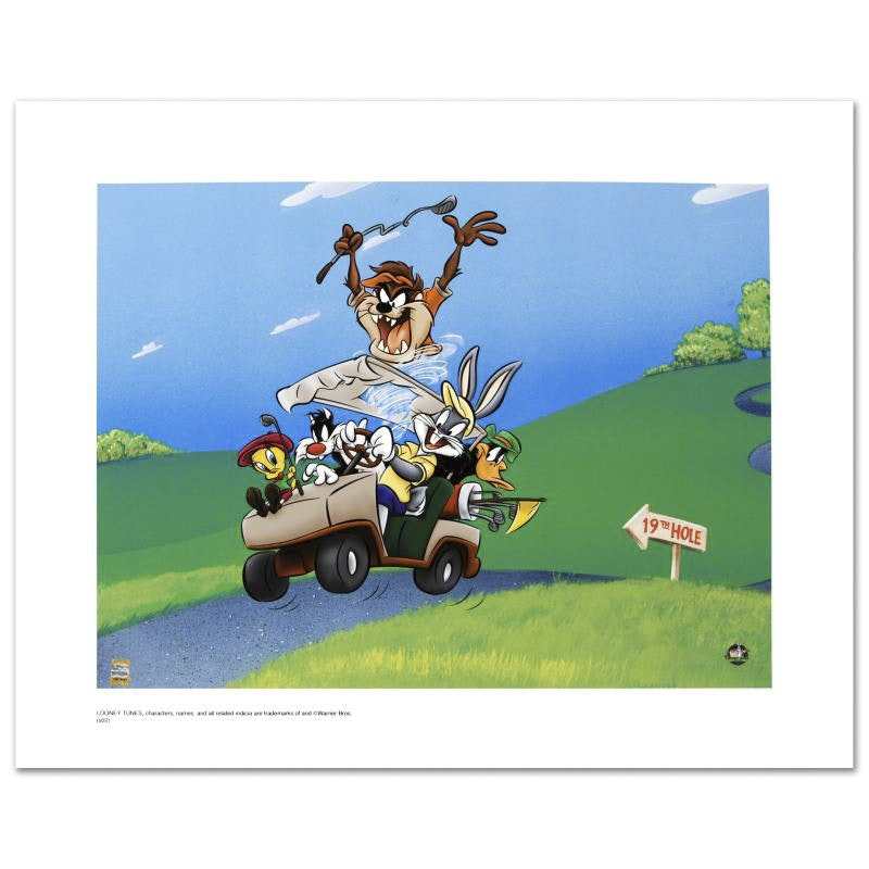 "Limited Edition Giclee ""To The 19th Hole"""