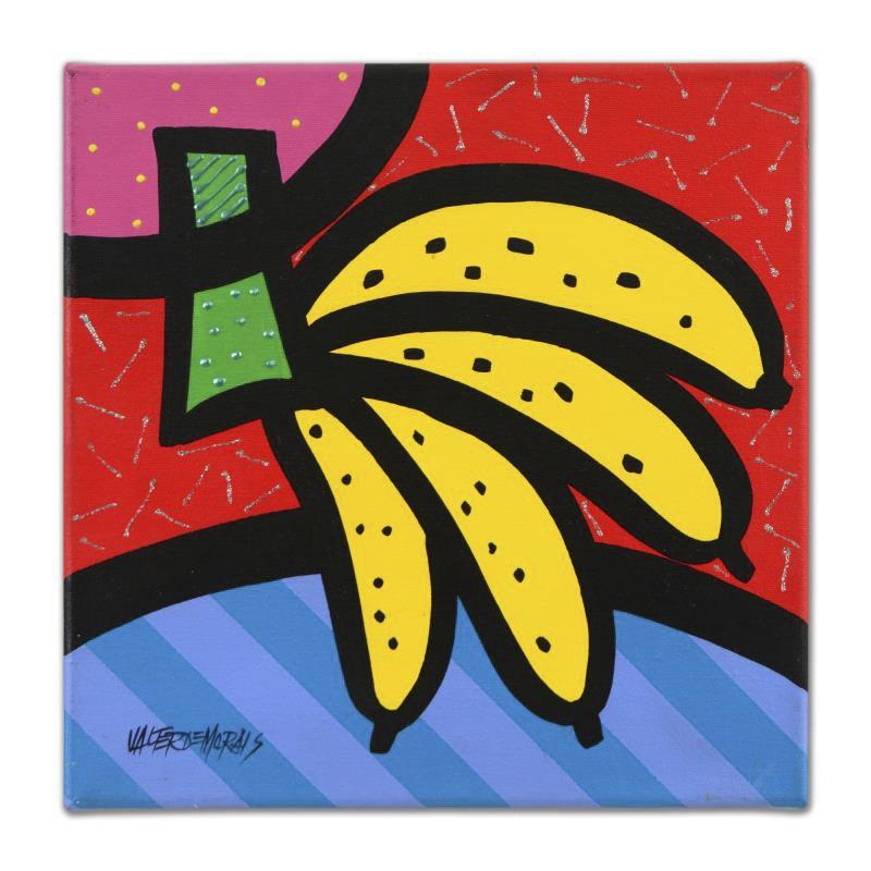 """Valter Morais Acrylic on Canvas """"Florida (Bananas)"""""""
