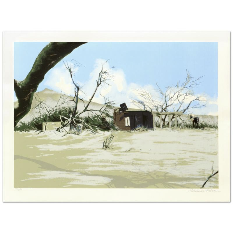 """William Nelson Limited Edition Serigraph """"Bandit's Hideout"""""""