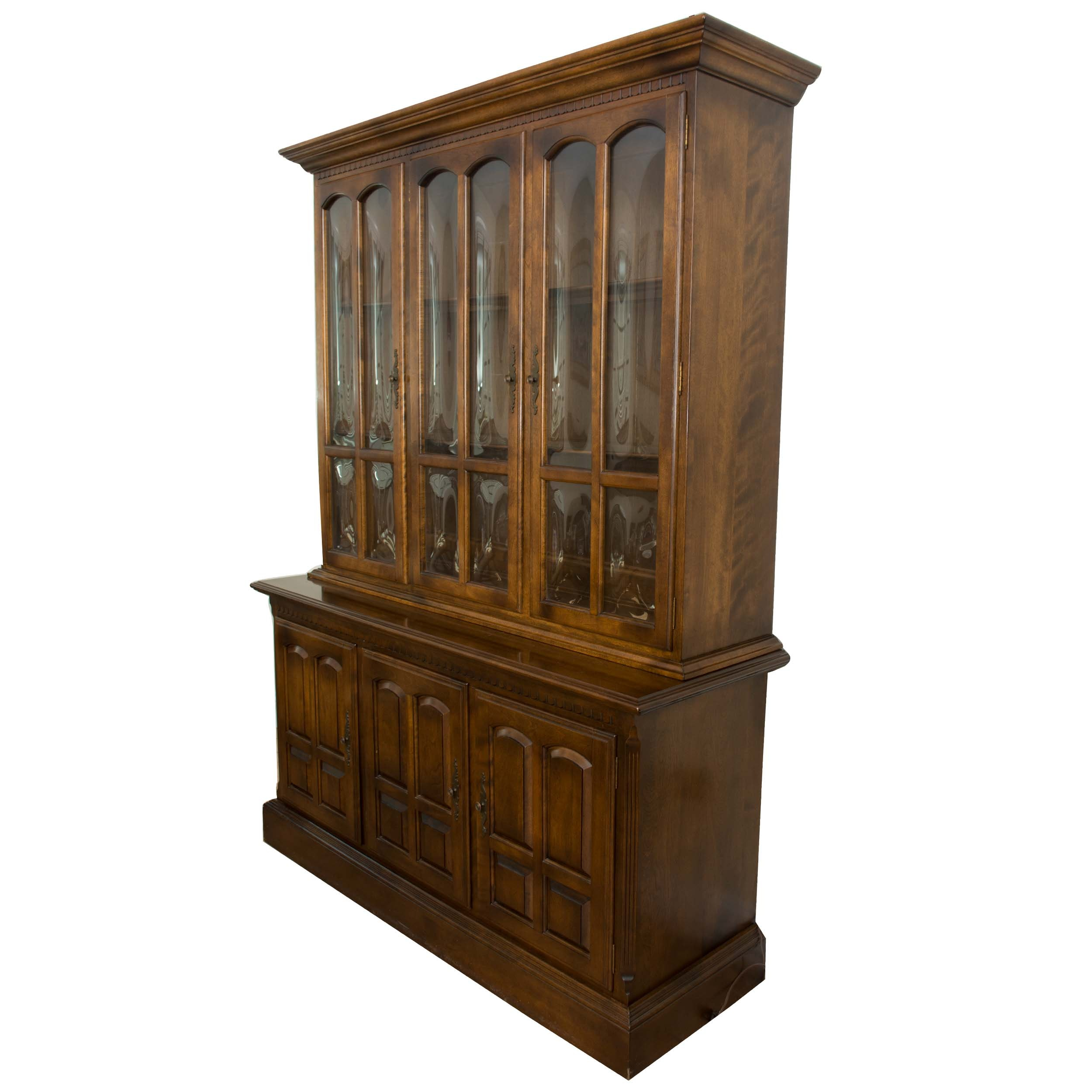 Vintage China Cabinet by Ethan Allen