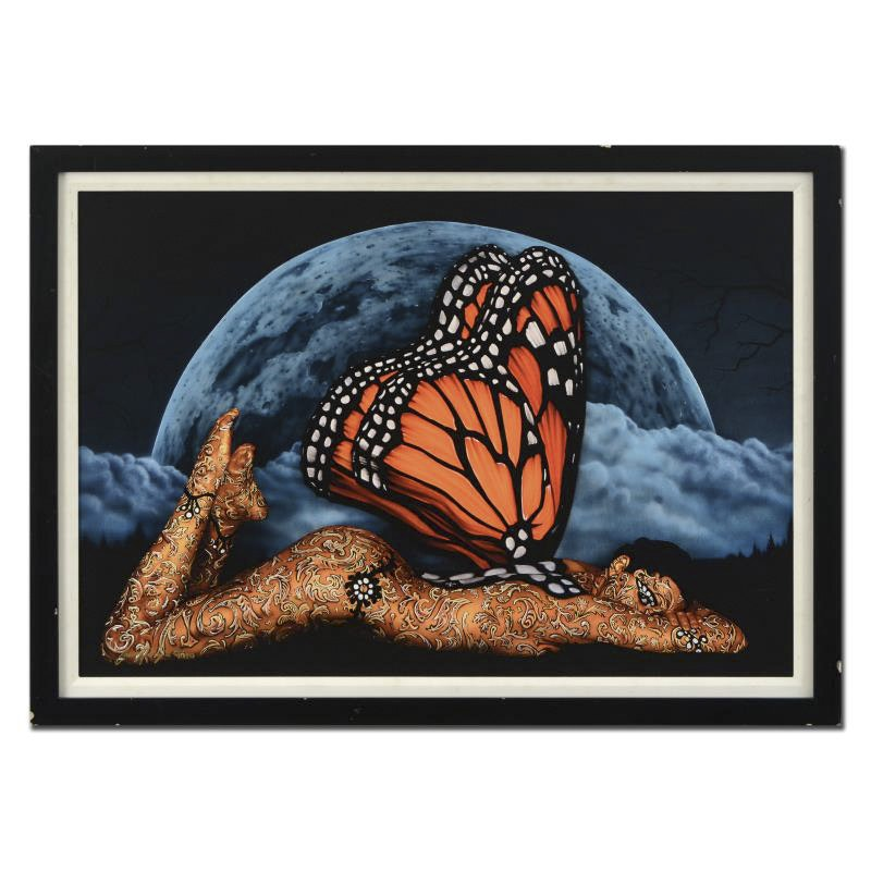 """Craig Tracy Limited Edition Giclee on Canvas """"Monarch"""""""