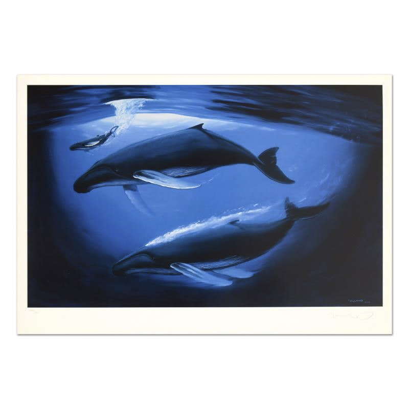 "Wyland Limited Edition Lithograph ""A Sea of Life"""