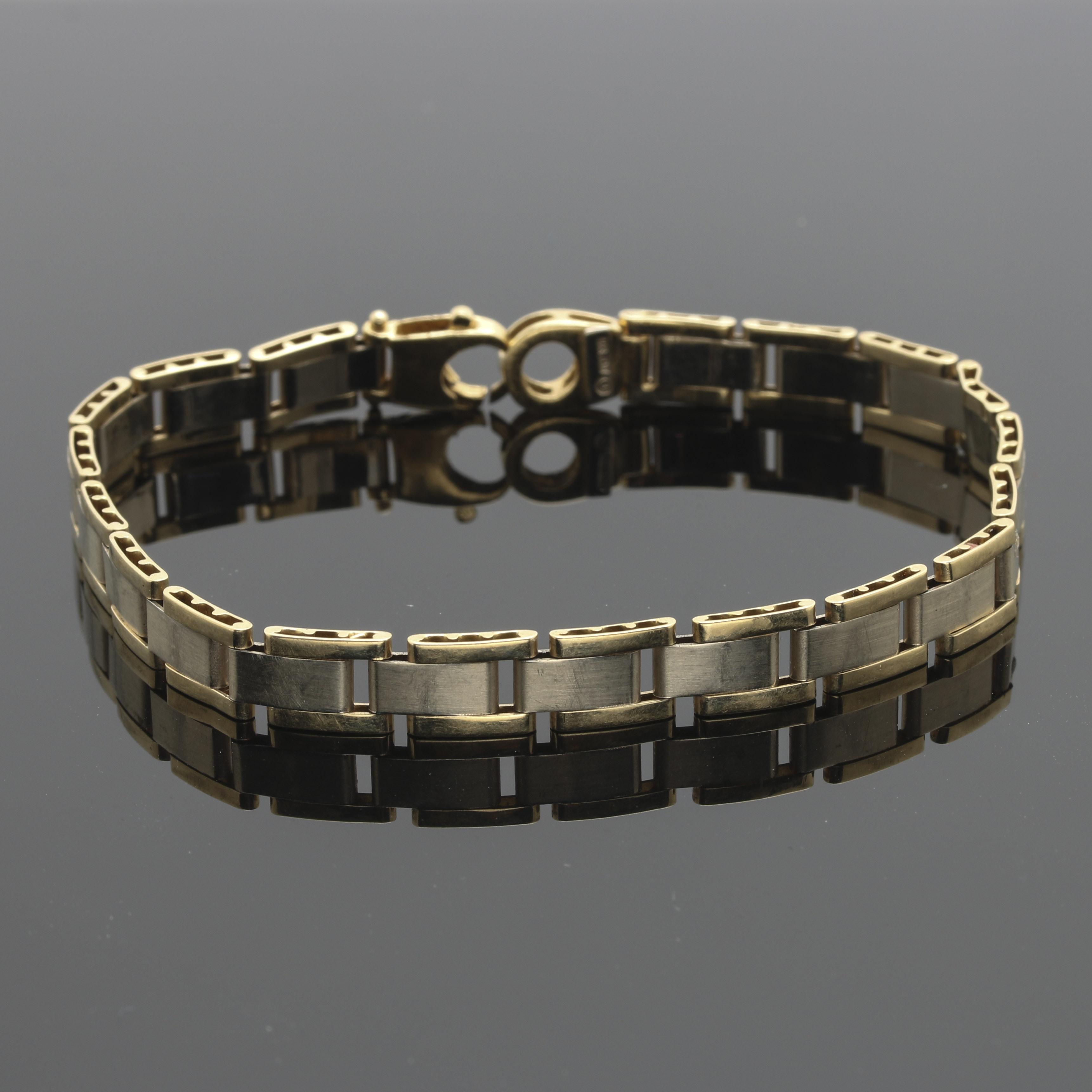 14K Yellow Gold Linked Bracelet
