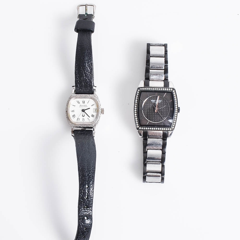 Bulova Accutron and Kenneth Cole Reaction Wristwatches