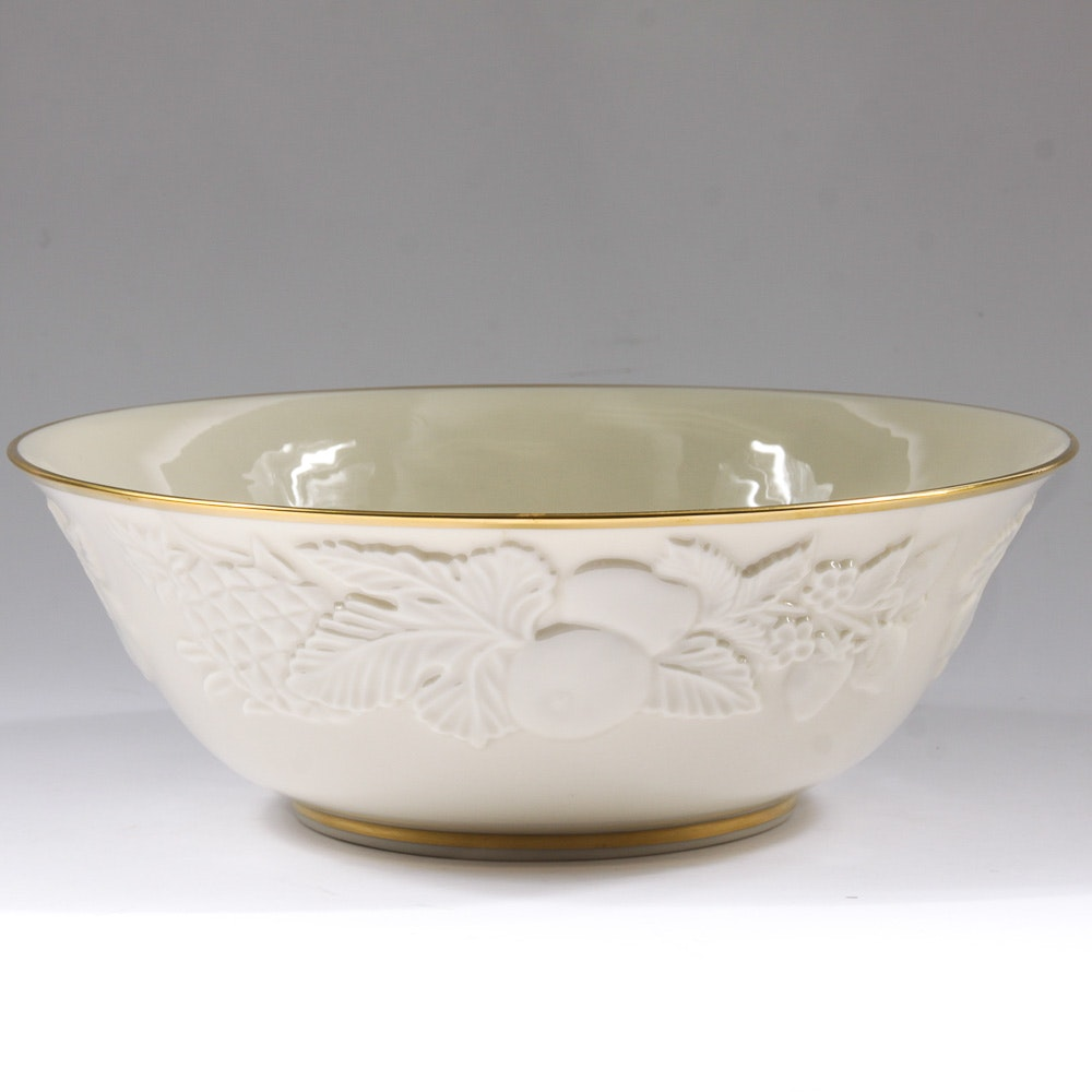 """Lenox """"Fruits of Life"""" Limited Edition Bowl"""