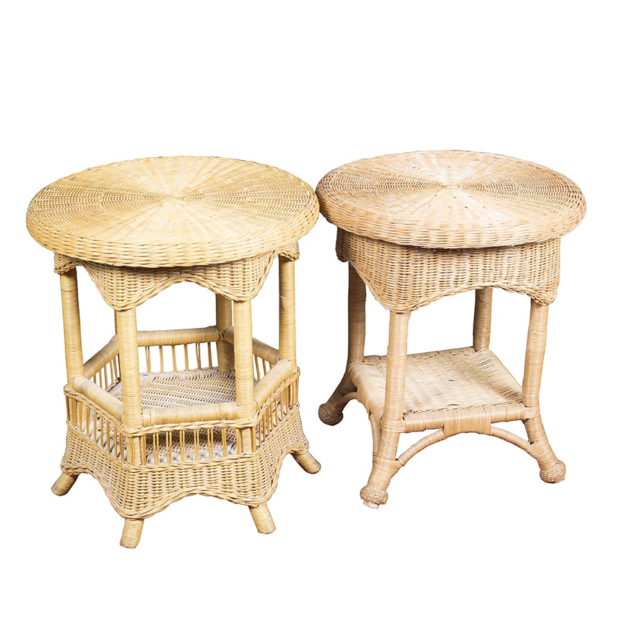 Wicker Accent Tables