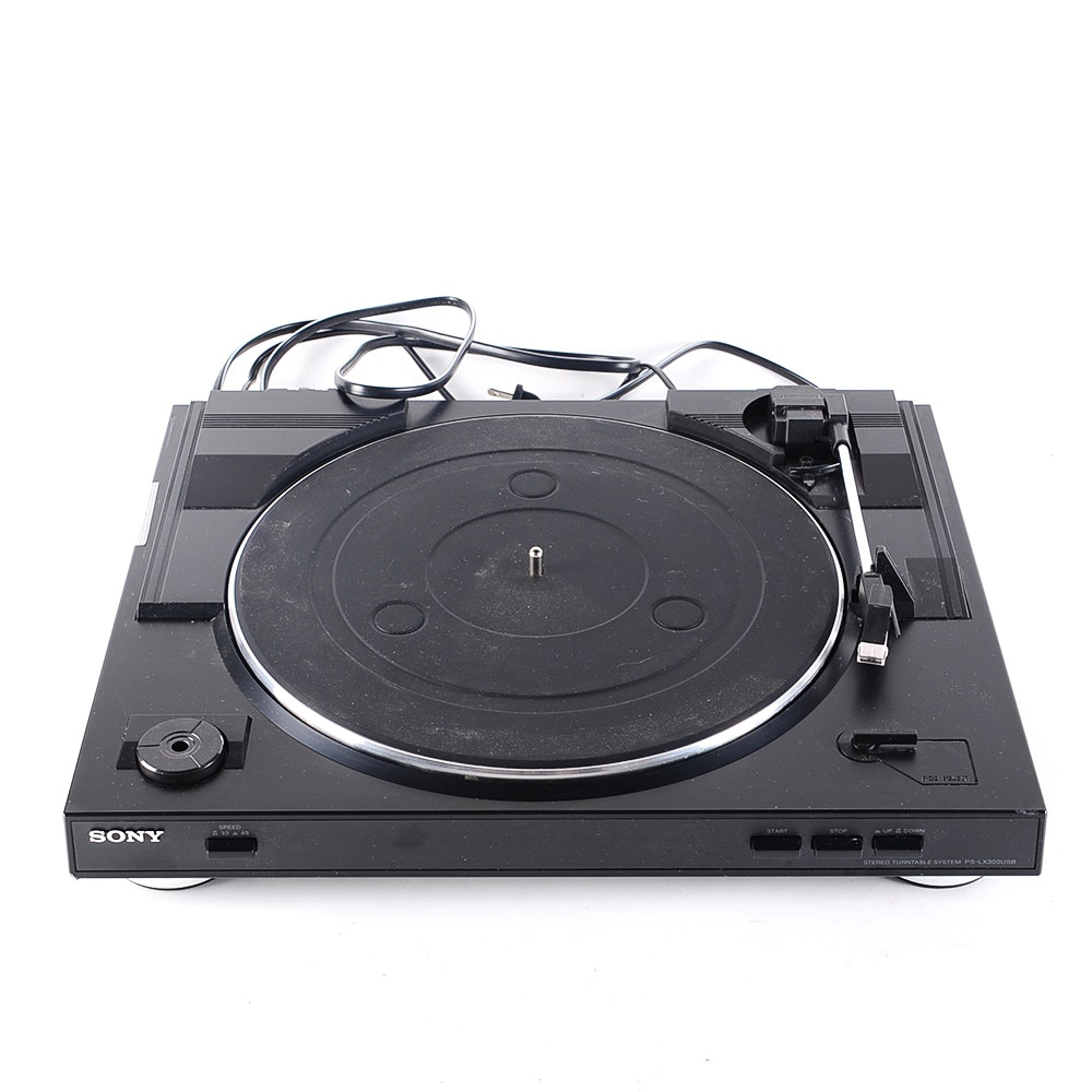Sony USB Compatible Stereo Turntable