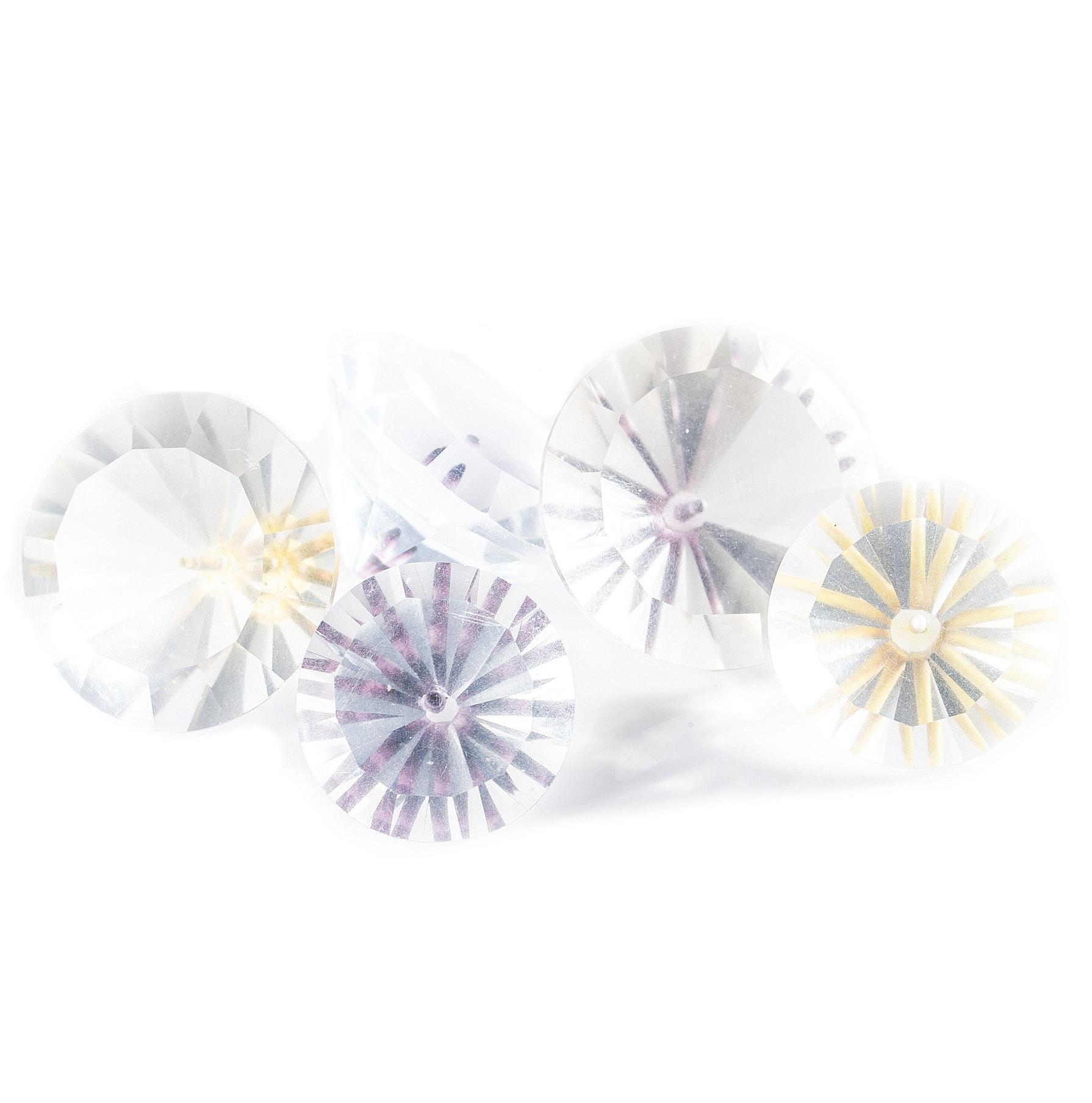 176.55 CTW Synthetic Quartz Stones
