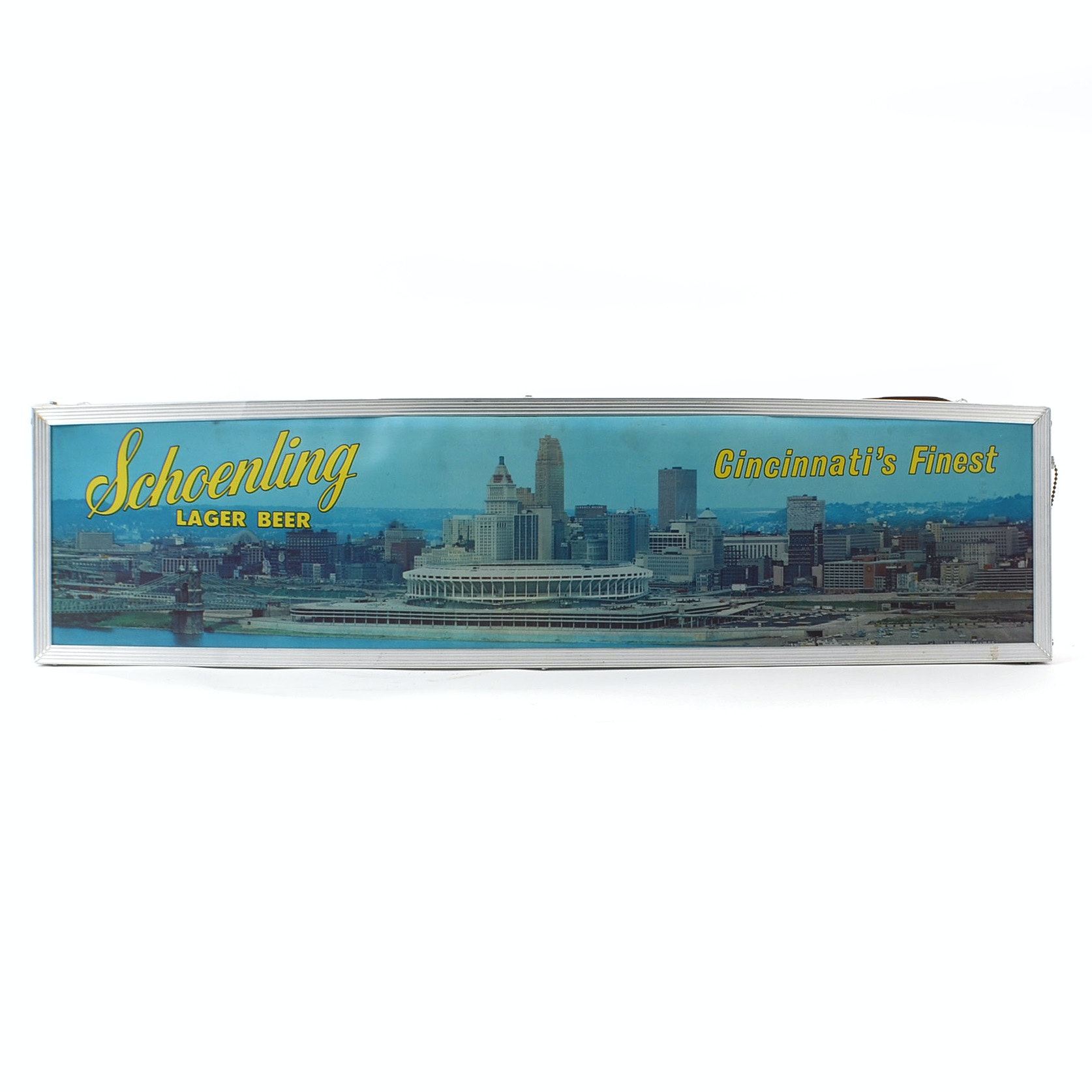 Schoenling Beer/Riverfront Lighted Sign