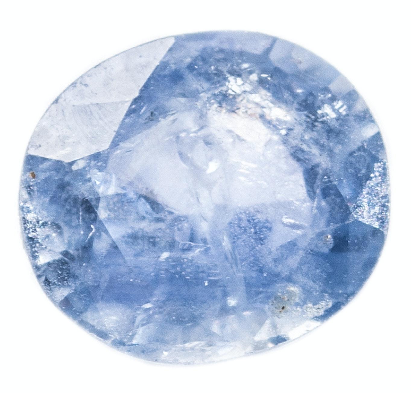 Oval Sapphire Stone