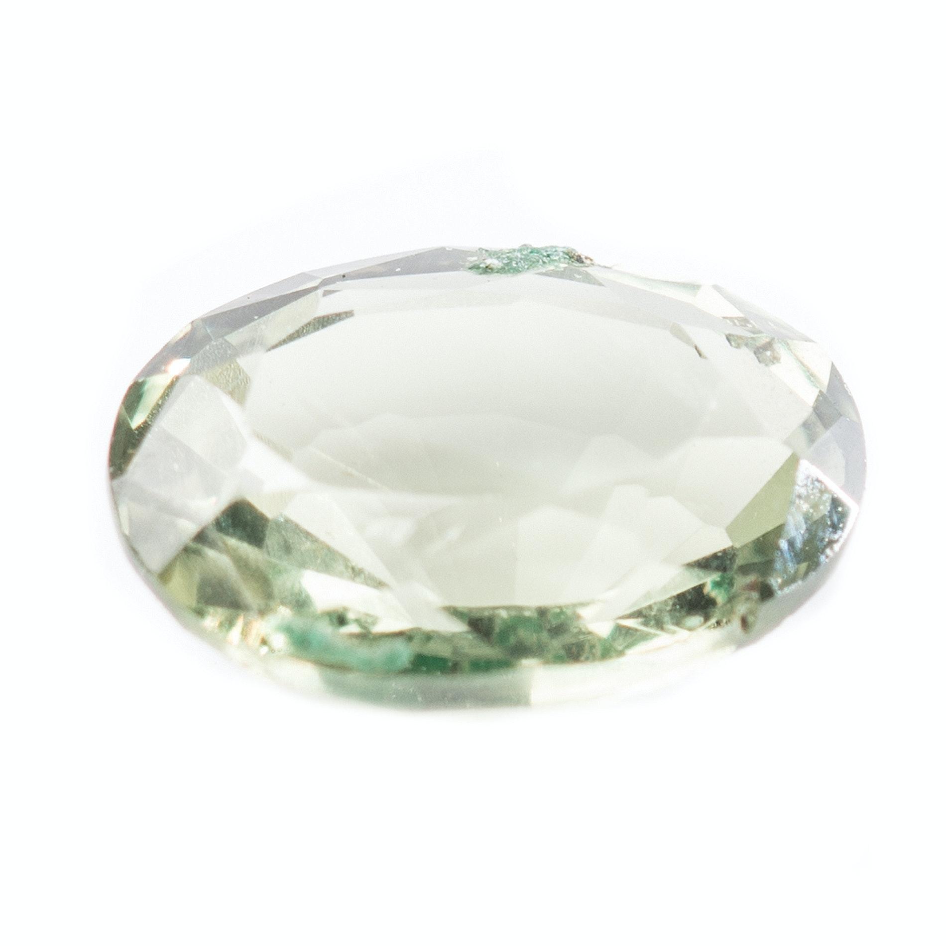 Green Sapphire Stone