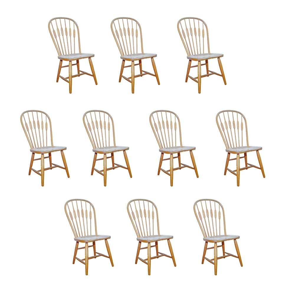 Vintage Oak Dining Chairs By Richardson Brothers
