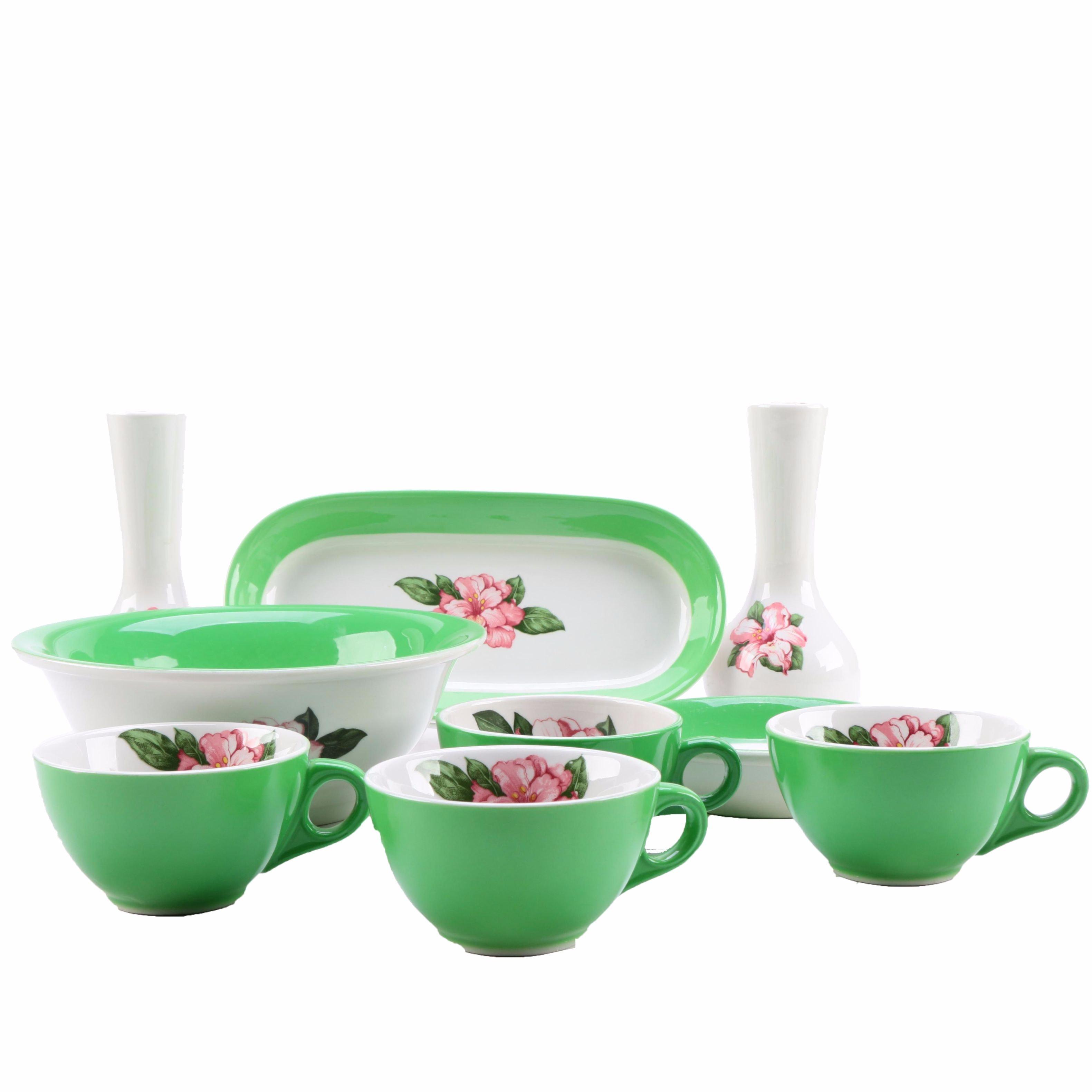 Shernango China Ceramic Tea Set
