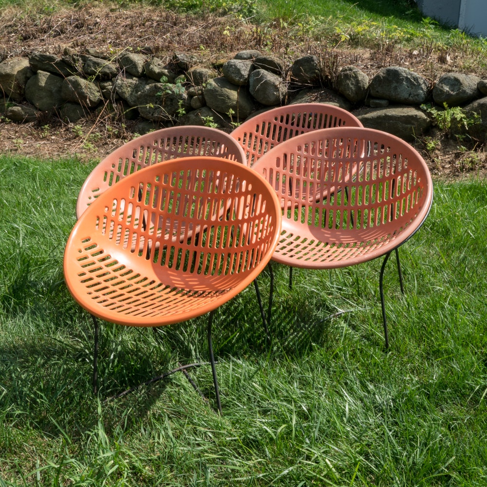 """Modern """"Solair"""" Outdoor Chairs by Fabiano and Panzini"""