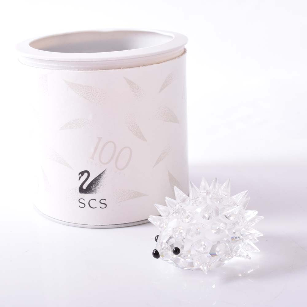 Swarovski Crystal Miniature Hedgehog