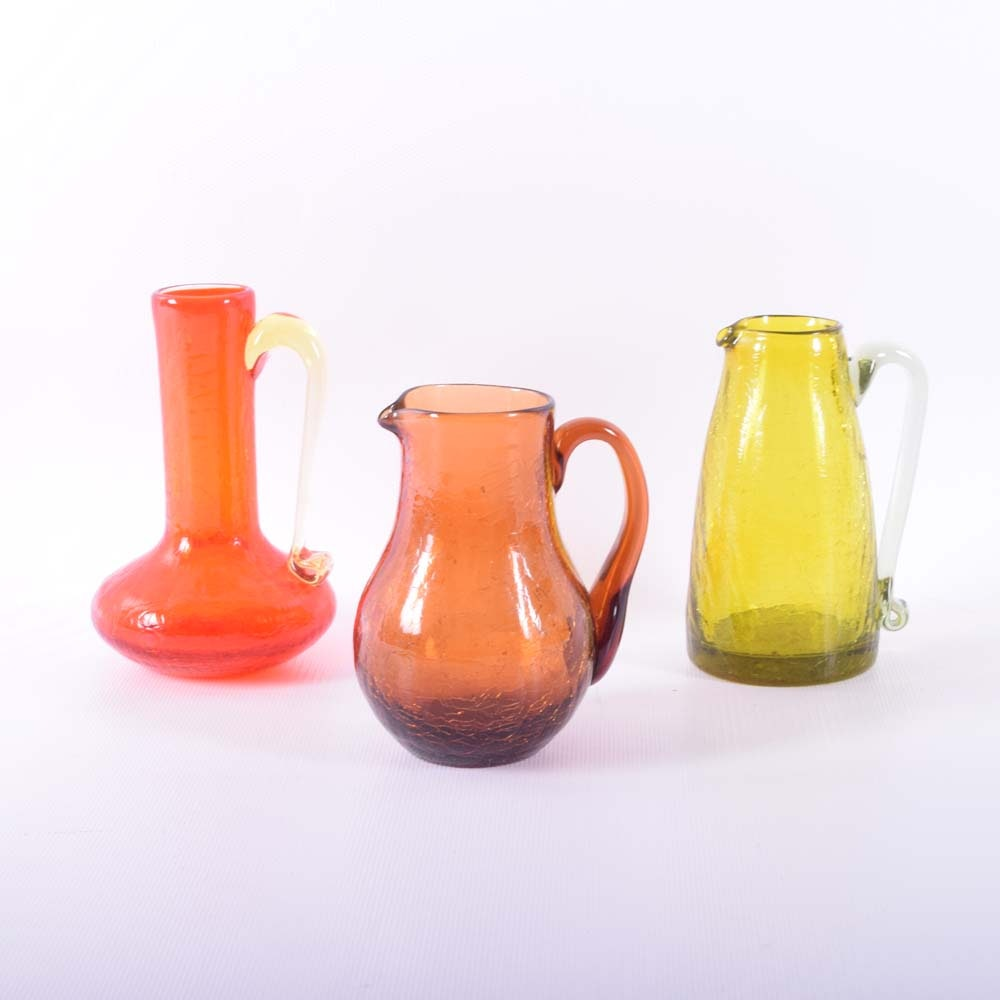 Handcrafted Miniature Art Glass Vessels