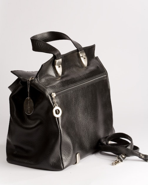 Kenneth Cole Black Leather Handbag