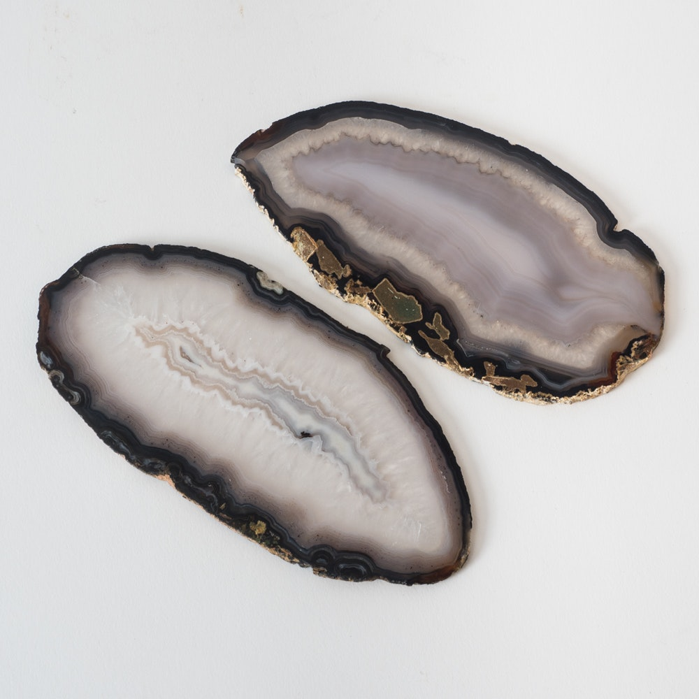 Pair of Agate Slices