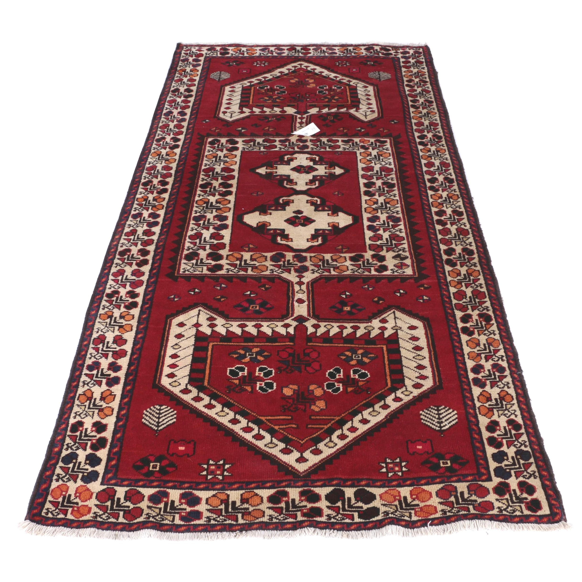 Hand-Knotted Persian Luri Area Rug