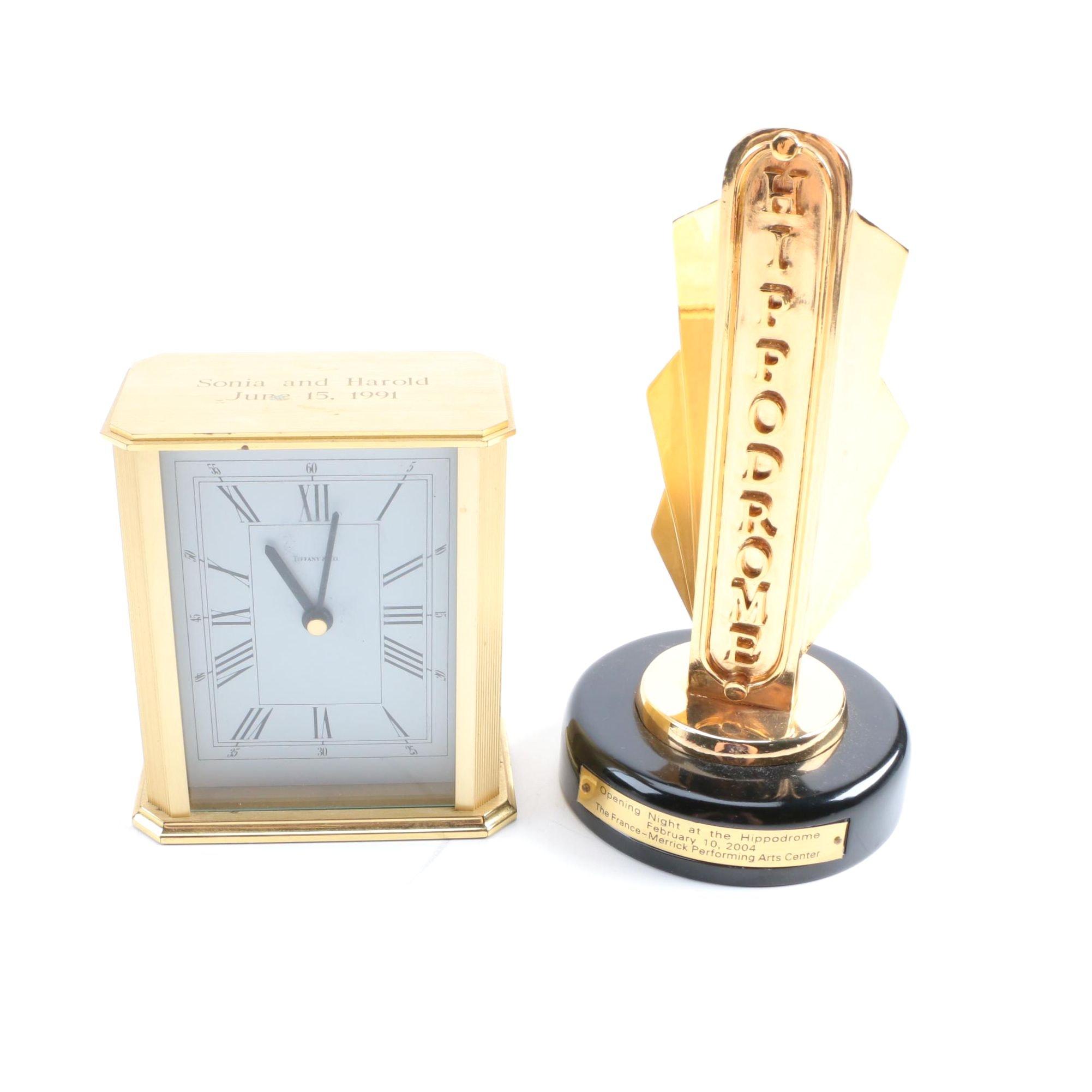 Tiffany & Co. Desk Clock and More