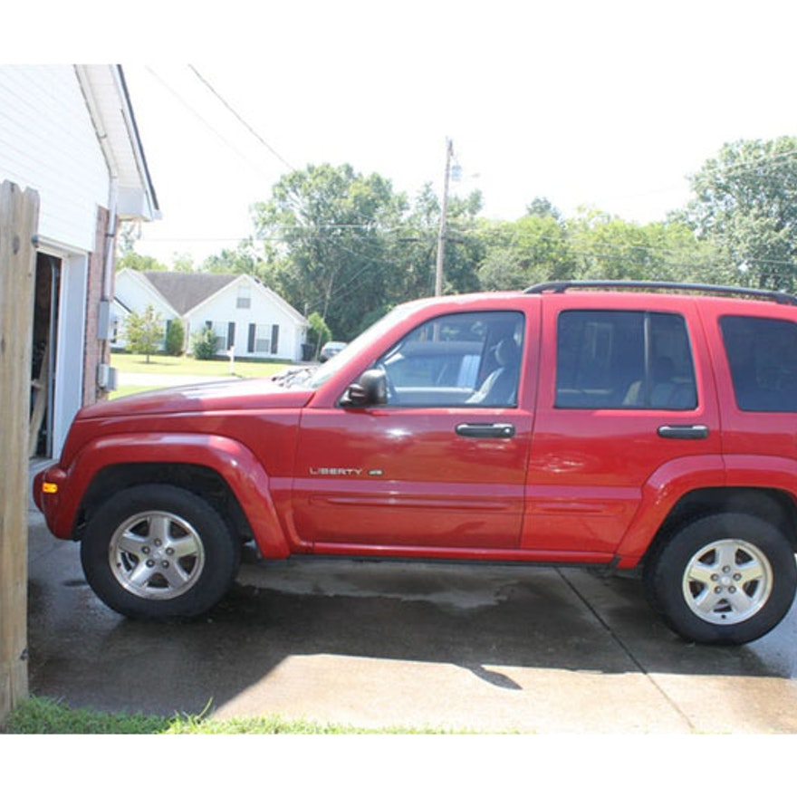 2002 jeep liberty 4x4 limited edition ebth for Liberty motors murfreesboro tn