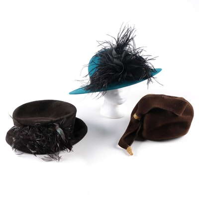 Cappelli and Harriet Rosebud Hats
