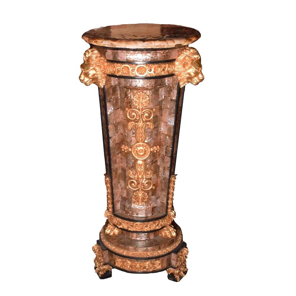 Louis XIV Pedestal Column