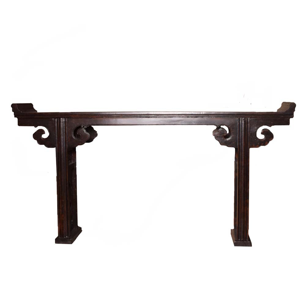 Morrocan Style Wooden Console Table