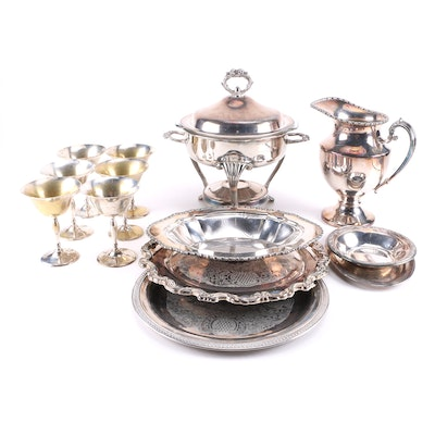 Large Plated Silver Assortment