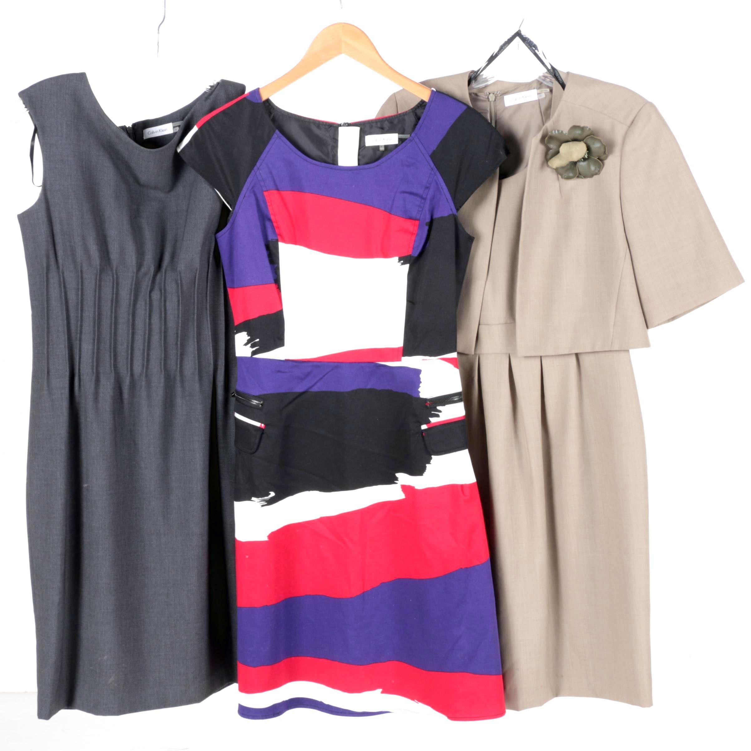 Calvin Klein Office Dresses
