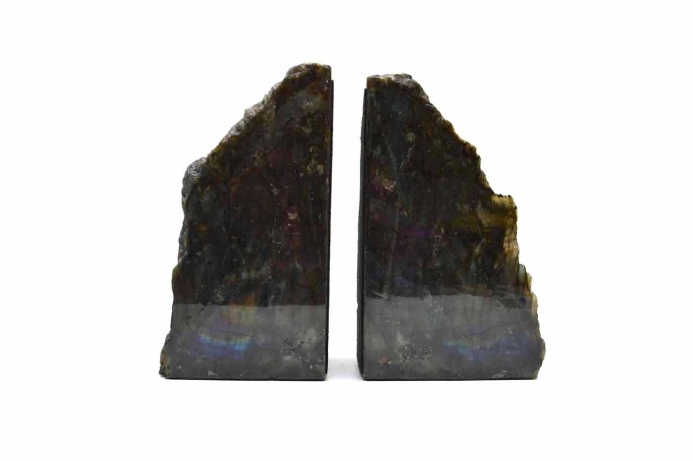 Labradorite Fragment Bookends