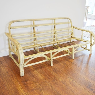Ficks Reed Mid-Century Modern Bamboo Sofa