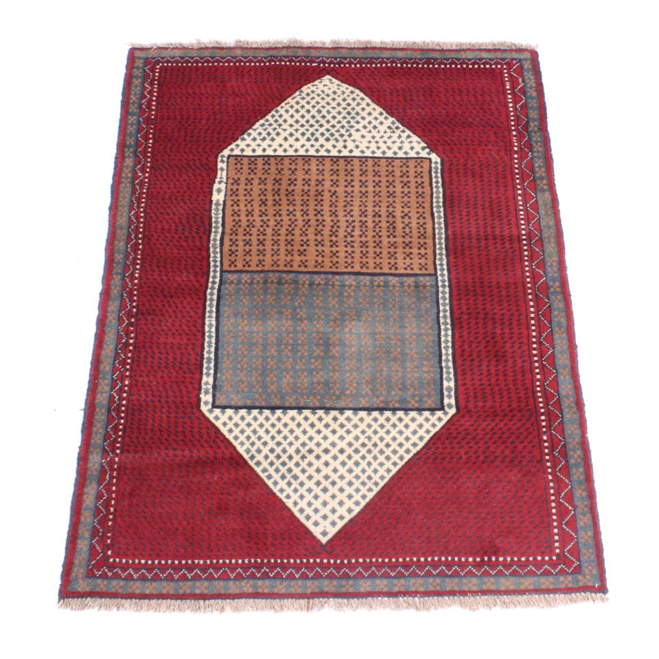 Hand Knotted Persian Quchan Khorassan Area Rug