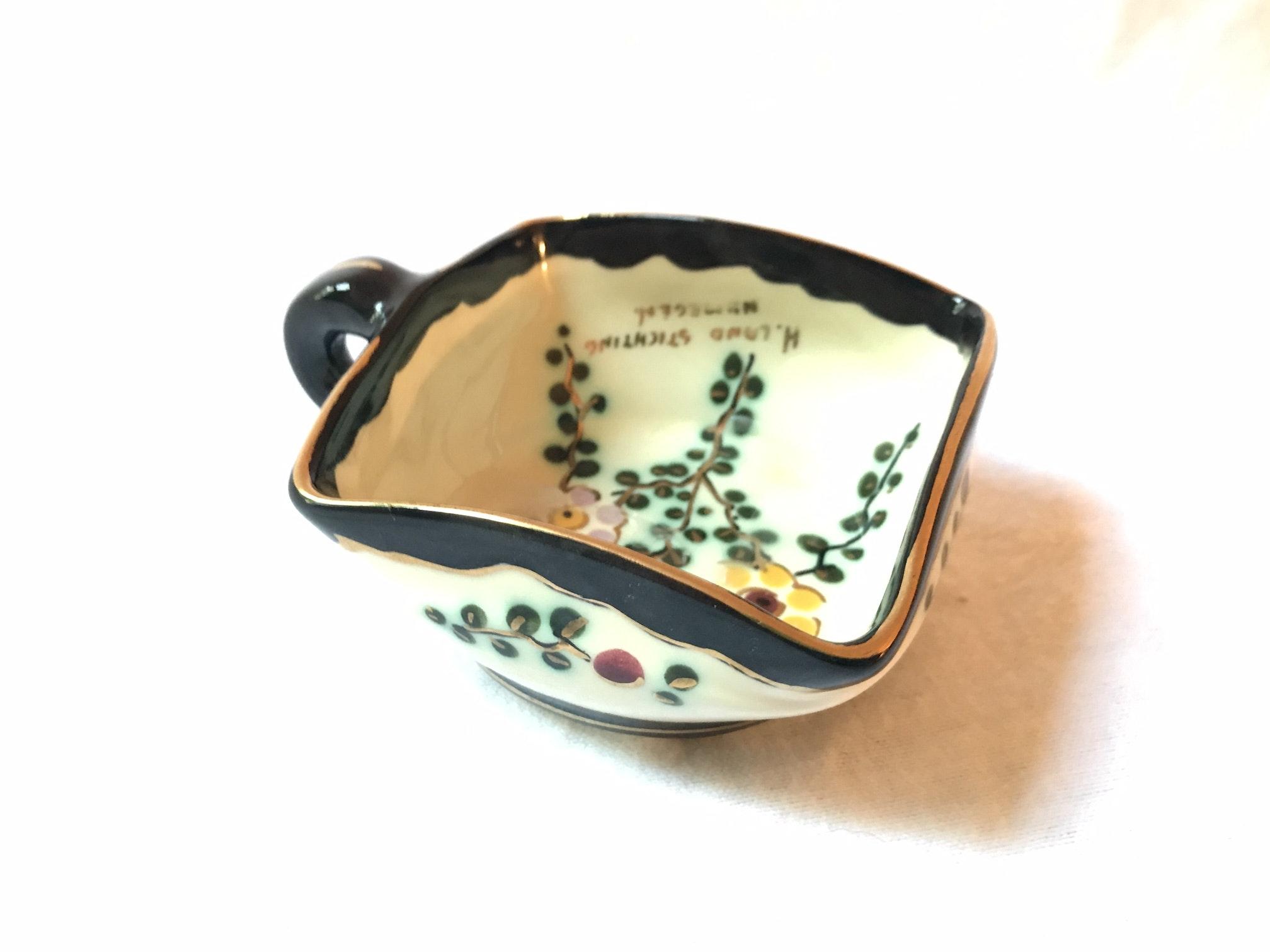 Dutch Handpainted Porcelain Dish