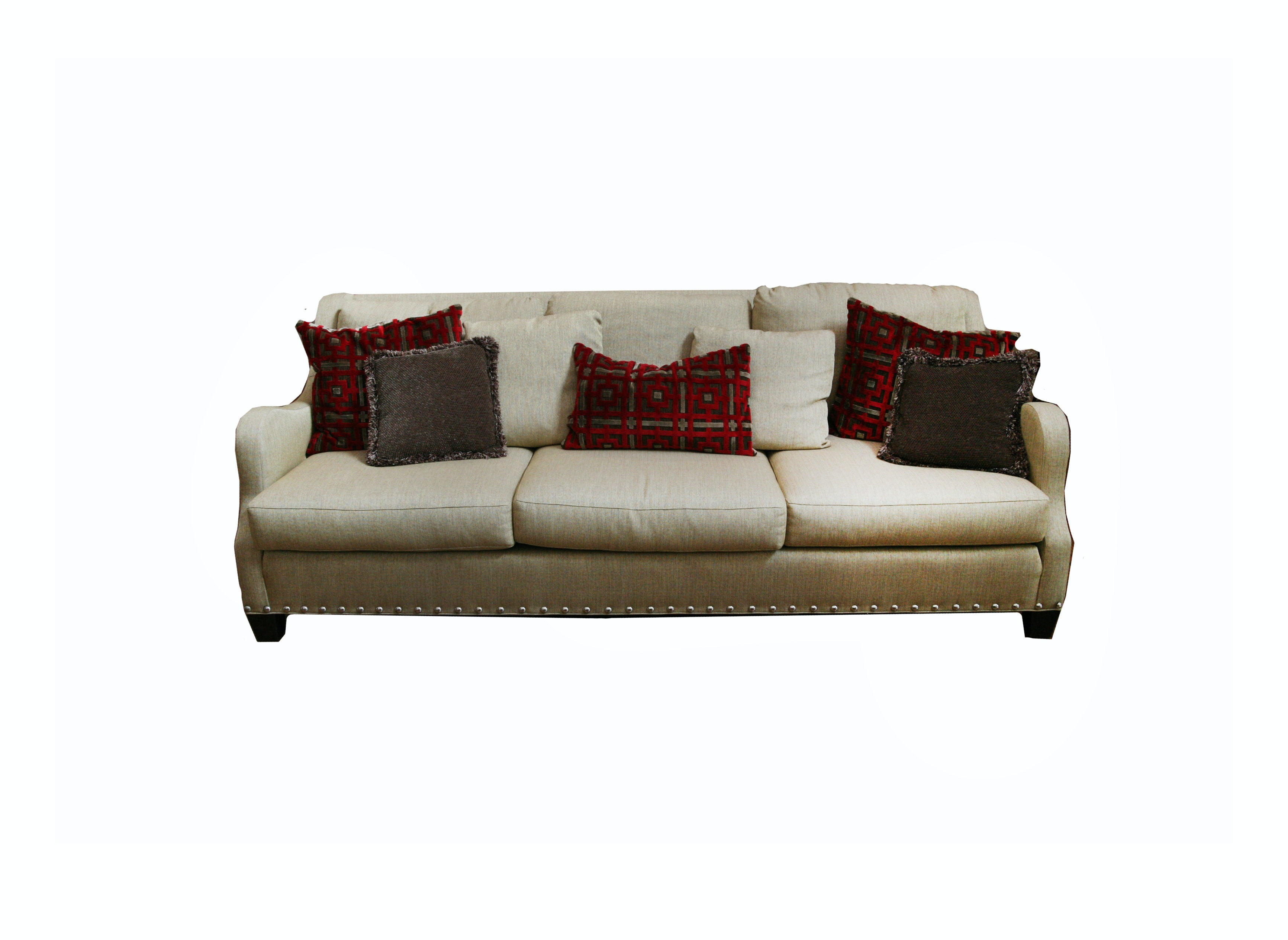 Sherrill Furniture Three Seat Sofa