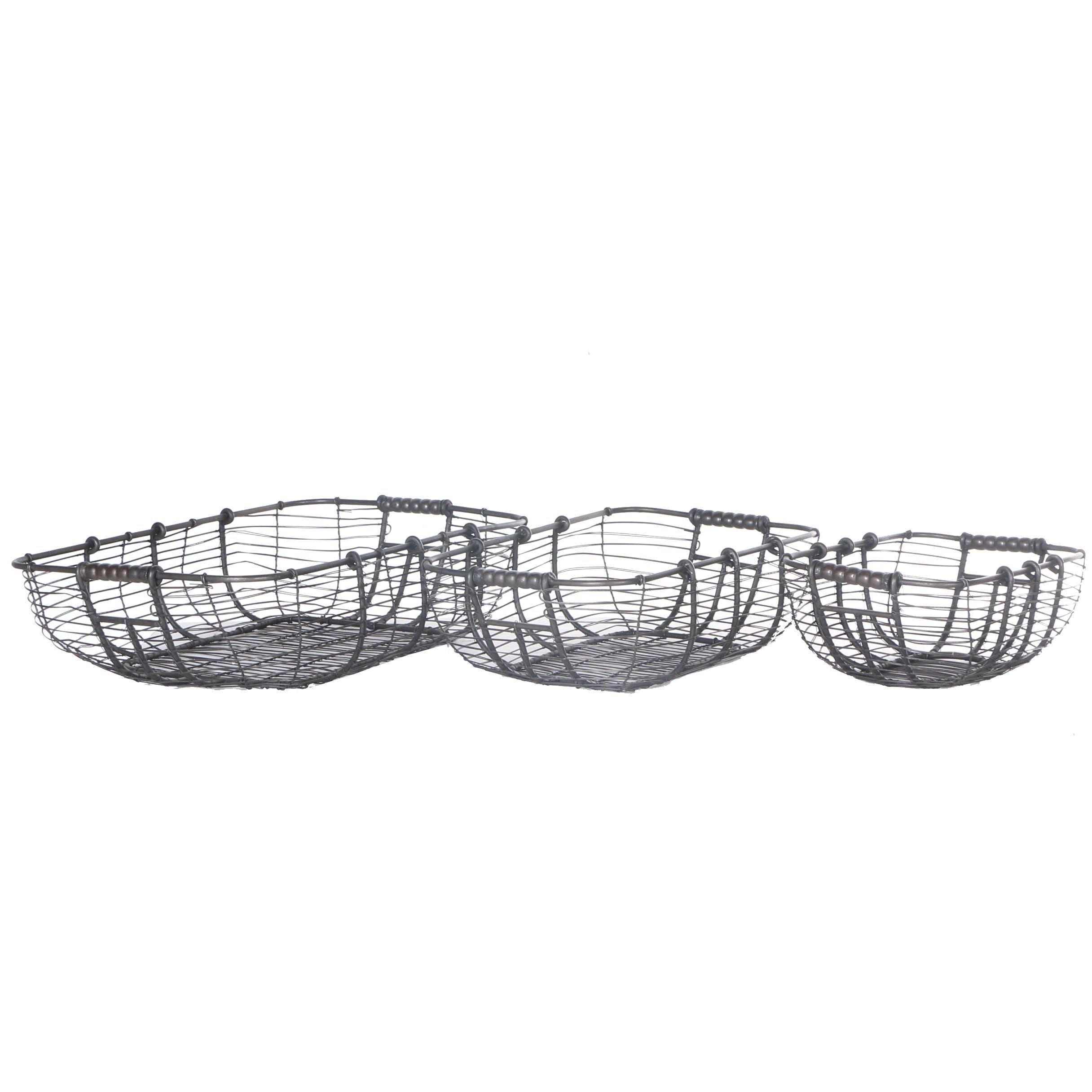 Nesting Wire Basket Set