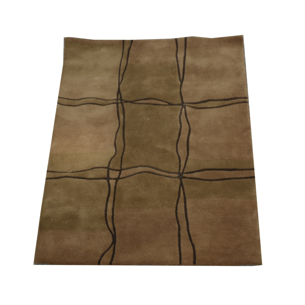 """Hand-Tufted Mat the Basics """"Amsterdam"""" Contemporary Area Rug"""