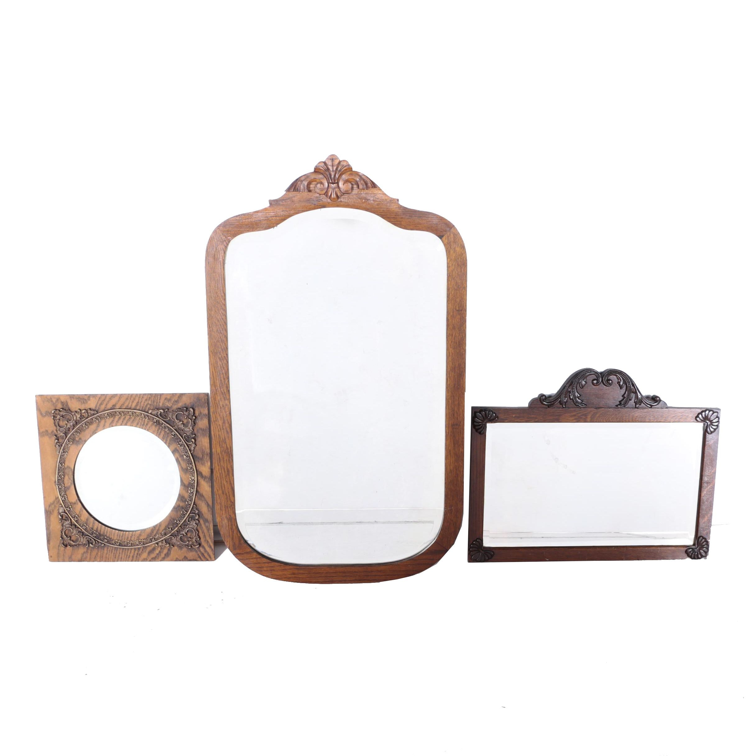 Wood Framed Wall Mirrors